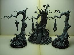gmorts chaotica hanging trees painted