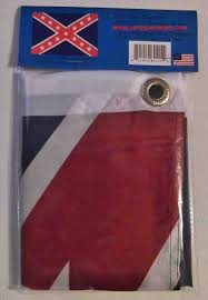 Reverse Color American Flag Confederate Flags Louisiana Rebel