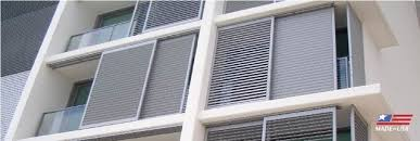 Apartment Patio Screen Apartment Balcony Shutters