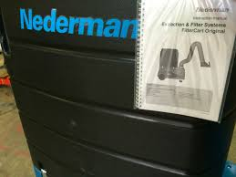 nederman filtercart original 3m welding fume extractor