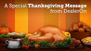 a special thanksgiving wednesday workshop dealeron