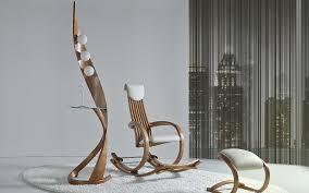 designer schaukelstuhl designer schaukelstuhl und designer leuchte lifestyle und design