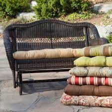 exterior design all weather outdoor porch swing cushions and