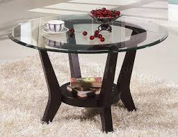 round glass side table small round glass coffee table