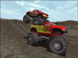 monster truck videos for monster truck madness 2 1998 promotional art mobygames