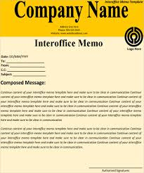 interoffice memo templates 5 download free documents in pdf word