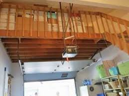 garage loft ideas overhead garage loft storage ideas youtube