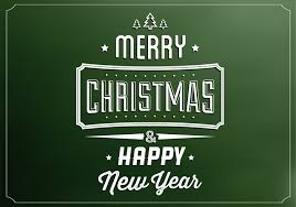 emerald merry christmas vector background download free vector