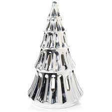 amazon com yankee candle large silver tree tea light candle