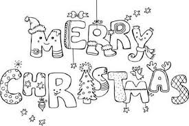 merry christmas coloring sheet coloring