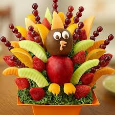 thanksgiving turkey centerpiece edible centerpieces for your colorful thanksgiving table