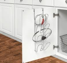 kitchen cabinet door pot and pan lid rack organizer cabinet door organizer