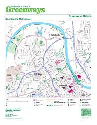 Great Loop Map Nashville U003e Parks And Recreation U003e Greenways And Trails U003e Maps