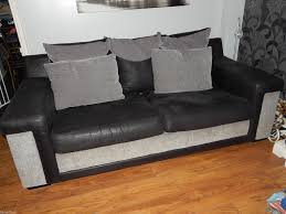 Scs Laminate Flooring Scs Link 2 X 3 Seater Sofa Settees And 1 Chair Extra Large Black