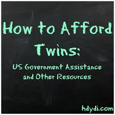 how to afford twins us government assistance and other resources