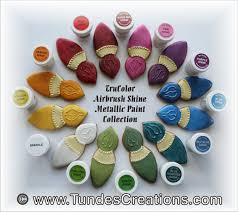trucolor airbrush shine colors large jars natural food coloring