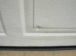 garage door bottom seal uneven floor u2014 new decoration garage
