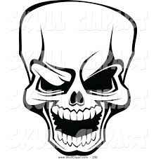 halloween clipart free black and white skull clipart black and white cliparts galleries