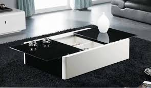 black coffee table with storage modern coffee tables storage intended for attractive home white with