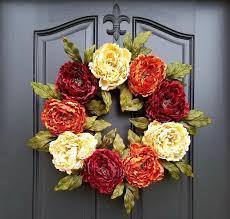 thanksgiving wreath how to create a diy thanksgiving wreath for your front door door