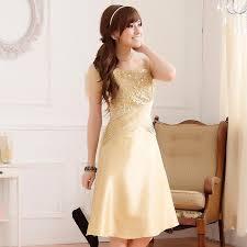 asian designer plus size champagne satin dress wholesale p k9222