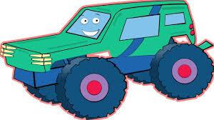 bigfoot presents meteor and the mighty monster trucks monster trucks and his friends fire truck and garbage truck in