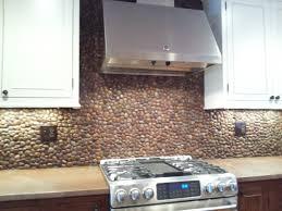 rock kitchen backsplash river rock kitchen backsplash great home decor unique decor with