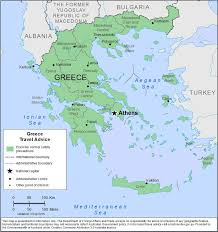 Map Of Crete Greece by Smartraveller Gov Au Greece