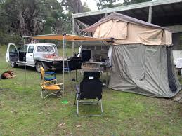 Camping Tent Awning Utepod Ute Pod Slide On Camper With Roof Top Tent Awning And