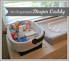 Changing Table Caddy S Plans What I Keep In My Organized Caddy