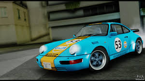 gulf porsche 911 porsche 911 turbo 3 2 coupe 930 1985 for gta san andreas