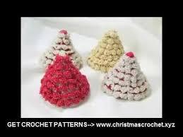crochet tree ornaments easy crochet patterns