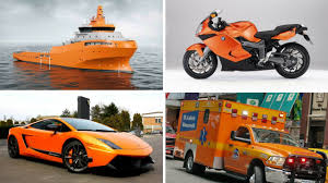 Orange Colors Names Orange Transport And Vehicles For Children Learn Vehicles Names