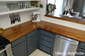 kitchen cabinet colors with butcher block countertops diy kitchen ideas to upgrade yours on a budget houselogic