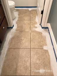 How To Paint And Stencil by 100 Ideas Paint For Tile Floors On Mailocphotos Com