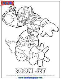 skylanders swap force air boom jet coloring u0026 coloring