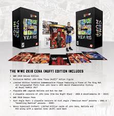 wwe 2k18 release date john cena nuff collector s edition details wwe 2k18 release date john cena nuff collector s edition details