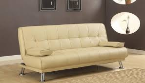 sofa bed faux leather russcarnahan com