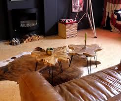 Wohnzimmerm El Tische Design Beistelltisch Teakholz Klapptisch Couchtisch Unikat