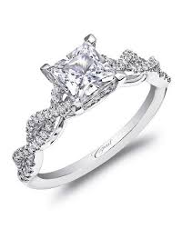 cut engagement ring princess cut engagement rings