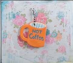 mug ornament hot coffee mug ornament ilovetocreate