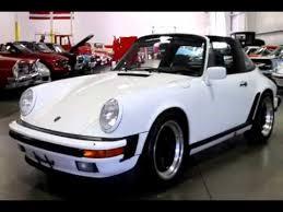 porsche 911 targa white 1984 porsche 911 targa white