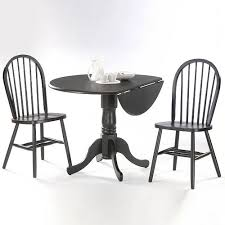 Drop Leaf Dining Table 3 Pc Drop Leaf Dining Table U0026 Chair Set