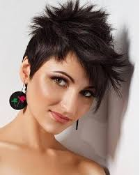 spiked hair with long bangs best short spiky hairstyles styling guide fmag com