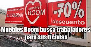 boom muebles consulta las nuevas oportunidades de empleo en muebles boom