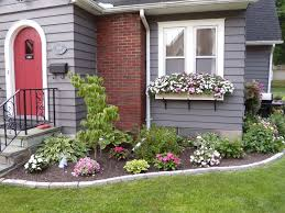 home front decor ideas front of house flower bed idea maybe a redo sooner than later i