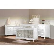 Convertible Crib Nursery Sets On Me Liberty 4 In 1 Convertible Crib Nursery Set In White