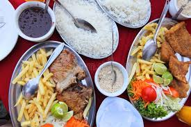 brasilianische küche brasilianische küche stockbild bild mahlzeit bohne 56084777