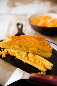 grilled cheese on mac u0027n u0027 cheese bread cupcake project