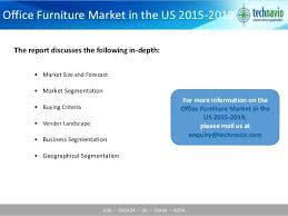 2010 Office Furniture by Office Furniture Market In The Us 2015 2019